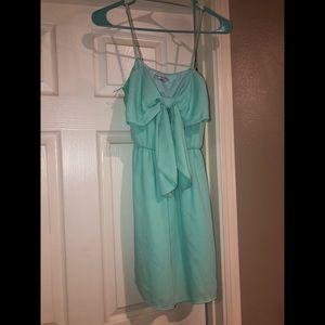 Tiffany blue bow dress!